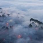 Andrija Vrdoljak - Grad - Livno u magli