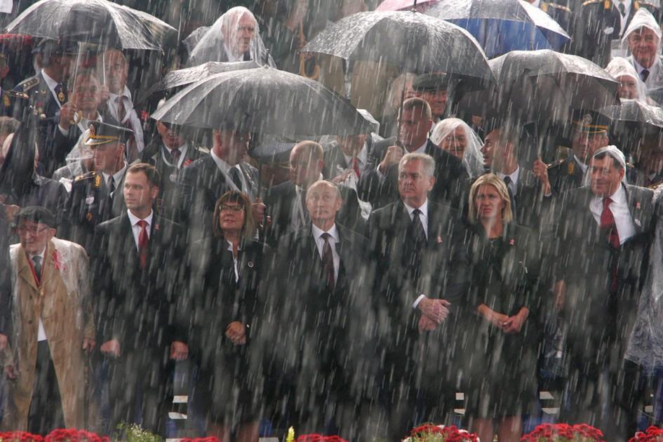 Vlado Kos PRESS Putin u Beogradu