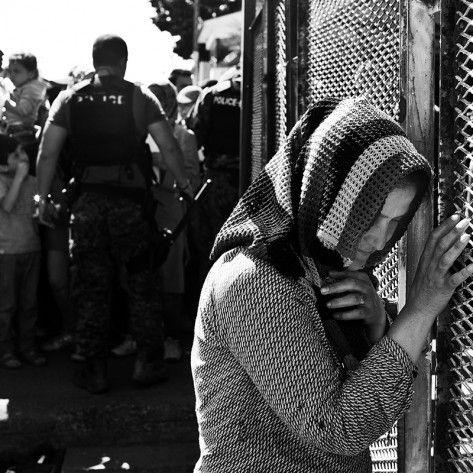 During the 2015, refugee crisis caused by the war in Syria and the unfavorable political situation in the Middle East has escalated to enormous proportions. As a result, hundreds of thousands of refugees have started moving along unsafe routes, looking for a better and safer life in Western Europe. Balkan countries have found themselves on this route. Although these countries were not a destination for any of the refugees, the human tragedy was followed by many heartbreaking scenes, questionable political decisions and tensions in the region. Many demonstrated duplicity, saying that refugees are more than welcome, and on the other hand they were closing the borders and aggravating to the maximum their journey. The truth, written on the faces of these people, can easily be decoded.
