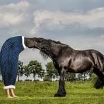 Deborah Roffel - Kissing Horse // Kreativna fotografija