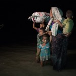 Martin Trabalik - News and events - Rohingya family disembarks in Bangladesh